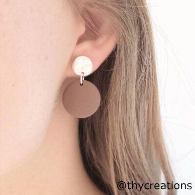Håndlavede øreringe i stilfuldt design