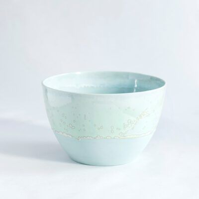 lille skål i grøn håndlavet keramik Lena Pedersen porcelæn København