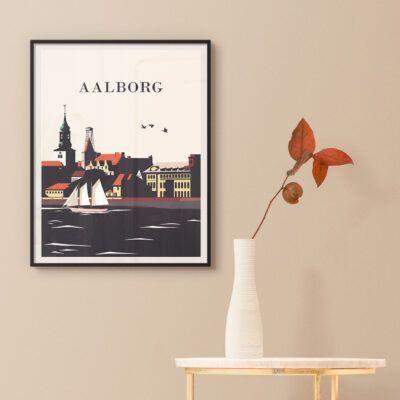 Byplakat fra Aalborg